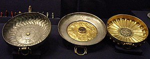 Wendjebauendjed - Three gold and silver bowls from Wendjebauendjed's tomb