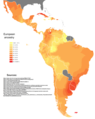 Genetic European ancestry in Central and South America with sources.png