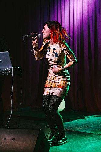 Genevieve (musician) - Image: Genevieve