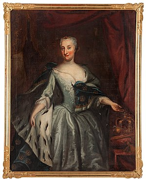 1719 in Sweden - Georg Engelhard Schröder - Ulrika Eleonora Queen of Sweden