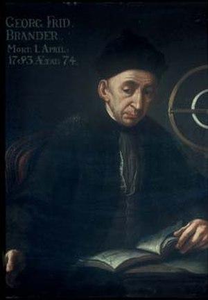 Georg Friedrich Brander - Georg Friedrich Brander