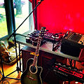 GeorgeLife gLife's home studio - Ovation guitar, Boss RC-300 Loop Station, Ukulele, Akai MPK mini, Numark Mix Track Pro, Harmonica, 2x microphones... gLife and Pookie new music coming soon... (2013-06-05 by GeorgeLife gLife).jpg