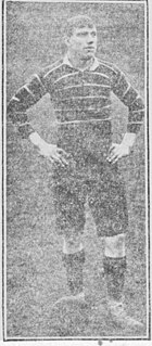 George Hayward (rugby) Welsh rugby union player