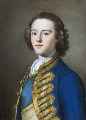 George Rice (died 1779) - George Rice, pastel portrait by William Hoare