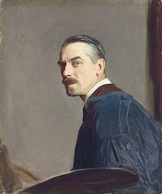 George Spencer Watson - Self portrait