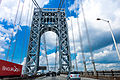 George Washington Bridge, New York, NY by Michael Vadon 02.jpg