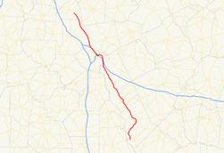 Georgia State Route Wikipedia - Juliette georgia map