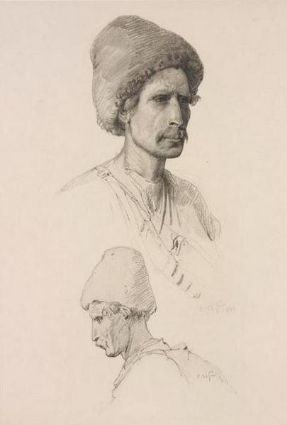 File:Georgians of Tiflis by T. Horschelt, 1858-1863.jpg