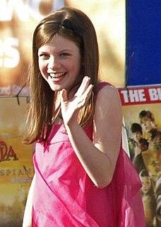 Georgie Henley English actress