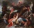 Gerard de Lairesse - Hermes Ordering Calypso to Release Odysseus - 1992.2 - Cleveland Museum of Art.tiff