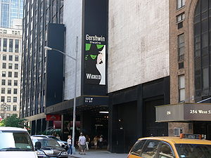 Wicked (musical) - The original Broadway production has been at the Gershwin Theatre since its opening in 2003.