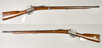 Remington M1867 - Image: Gevär m 1867 Sverige (Carl Gustafs Stads Gevärsfaktori Armémuseum)