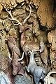 Giardino di castello, grotta degli animali o del diluvio, vasca di dx 04 cervi (con palchi veri) di antonio lorenzi, francesco ferrucci del tadda e altri, 1555-57 ca.jpg