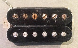 PAF (pickup) - Image: Gibson PAF Humbucker Top View
