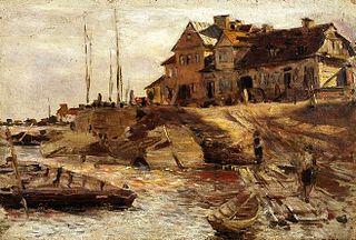 Solec harbour (study).