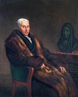 Gijsbert karel graaf van hogendorp, door jean francois valois of cornelis cels