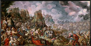 Battle scene (Defeat of Sennacherib ?)