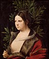 "Giorgio da Castelfranco, gen. Giorgione, , Kunsthistorisches Museum Wien, Gemäldegalerie - Bildnis einer jungen Frau (""Laura"") - GG 31 - Kunsthistorisches Museum.jpg"