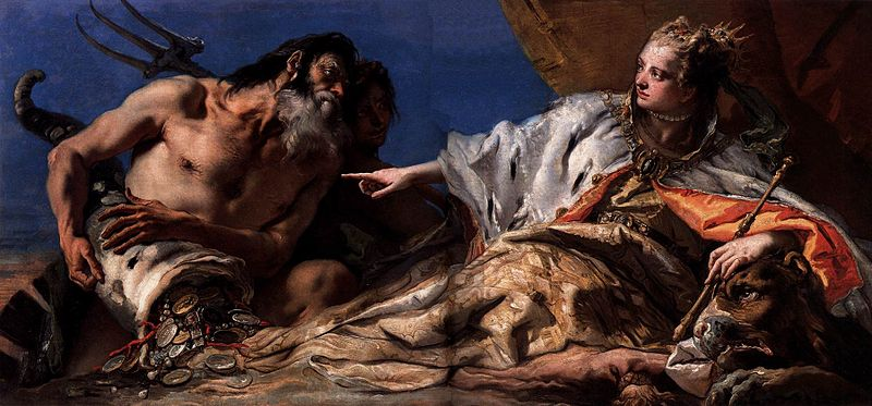 File:Giovanni Battista Tiepolo - Neptune Offering Gifts to Venice - WGA22302.jpg