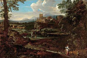 Giovanni Francesco Grimaldi - Classical landscape