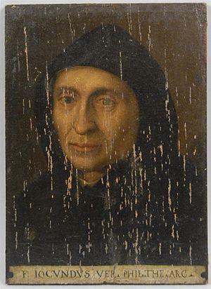 Giovanni Giocondo - Giovanni Giocondo portrait