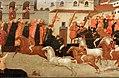 Giovanni francesco toscani, fronte di cassone con il palio della corsa dei barberi a firenze, 1418, 03.jpg