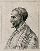 Girolamo Cardano. Stipple engraving by R. Cooper. Wellcome V0001004.jpg