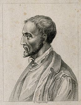 Girolamo Cardano. Stipple engraving by R. Cooper. Wellcome V0001004.jpg