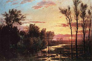 Giulio Carmignani - Sunset After the Rain