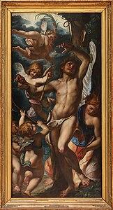 Giulio Cesare Procaccini - Saint Sébastien secouru par les anges.jpg