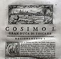 Giuseppe maria bianchini, Dei Granduchi di Toscana della real Casa De' Medici, per gio. battista recurti, venezia 1741, 10 cosimo I 3.jpg