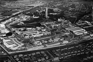 Empire Exhibition, Scotland - Aerial view