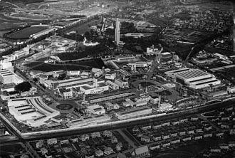 Bellahouston Park - Bellahouston Park during Empire Exhibition of 1938