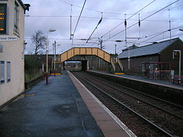 Glemgarnock Railway station north.JPG