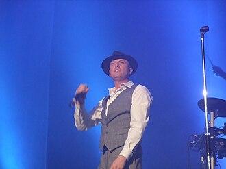 Heaven 17 - Glenn Gregory onstage