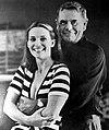 Glenn Ford with his third wife Cynthia Hayward in 1977.jpg