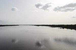 Geba River - Geba River, Guinea-Bissau