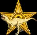Gold Barnstar of Dino.png
