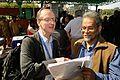 Gordon Rintoul and Bhargaviamma Venugopal - Kolkata 2014-02-13 2498.JPG