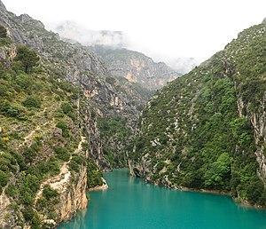 Le lac de Sainte-Croix (04) 300px-Gorges_Verdon_Barrage_Sainte_Croix