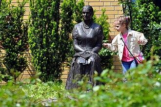 Bronisława Wajs - Memorial statue of Bronisława in Gorzów Wielkopolski