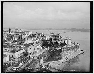 La Fortaleza - La Fortaleza, circa 1903