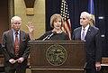 Governor Mark Dayton appoints Lt. Governor Tina Smith to the U.S. Senate (38150136245).jpg