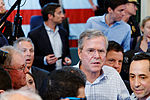 Governor of Florida Jeb Bush, Announcement Tour and Town Hall, Adams Opera House, Derry, New Hampshire by Michael Vadon II 03.jpg