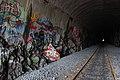 Graffiti inside Pasila rail tunnel in Helsinki, Finland, 2009.jpg