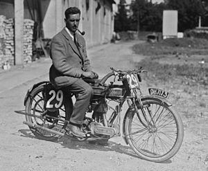 Graham Walker (motorcycle racer) - Graham Walker in 1921.
