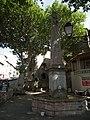 Grande fontaine de Caunes-Minervois Aiguebelle (place d').jpg