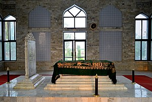Muhammad of Ghor - Muhammed Ghori's grave within his tomb near Gujar Khan, Pakistan