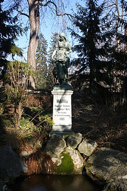 Graz Stadtpark Waldlilie 01