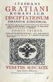 Graziani - Disceptationum forensium judiciorum, 1699 - 205.tif